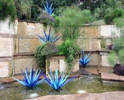 El jardín moderno